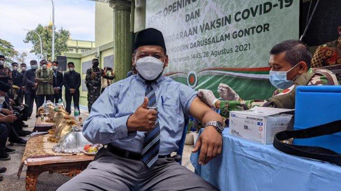 Pondok Gontor Ponorogo Launching Rumah Sakit Baru, Gelar Vaksinasi Covid-19 untuk Santri dan Ustaz