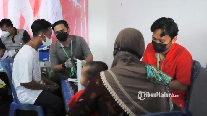 Antusiasme Warga Tinggi, Pelaksanaan Vaksinasi di Ponpes Assyafi'iyah Pamekasan Lampaui Target Awal