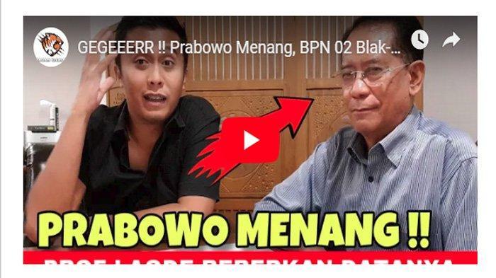 Sumber Klaim Prabowo Menang Pilpres Atas Jokowi Terungkap, Inilah Sosok di Baliknya yang Dibeber BPN