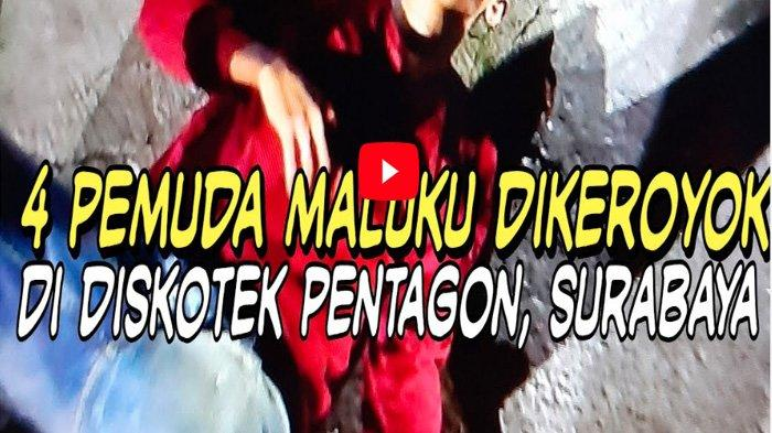 VIDEO Detik-detik Massa Organisasi Maluku Kepung Polsek Tegalsari, Dipicu Pengeroyokan Hingga Koma