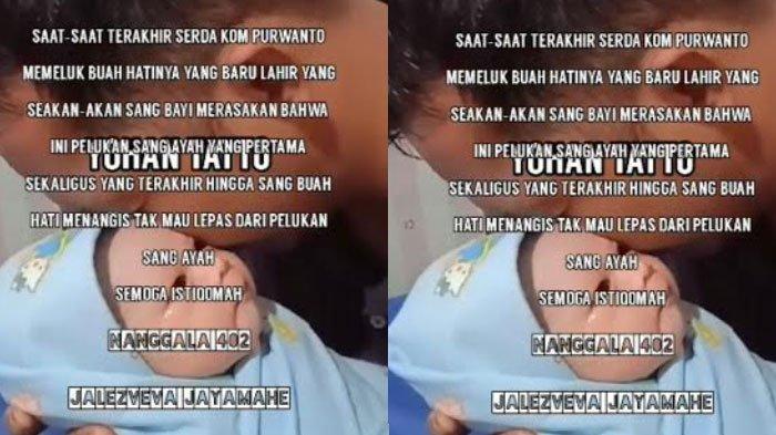 HOAKS Video Kru Kapal Selam KRI Nanggala 402 Peluk Bayi, Videonya Meresahkan Keluarga dan Kerabat