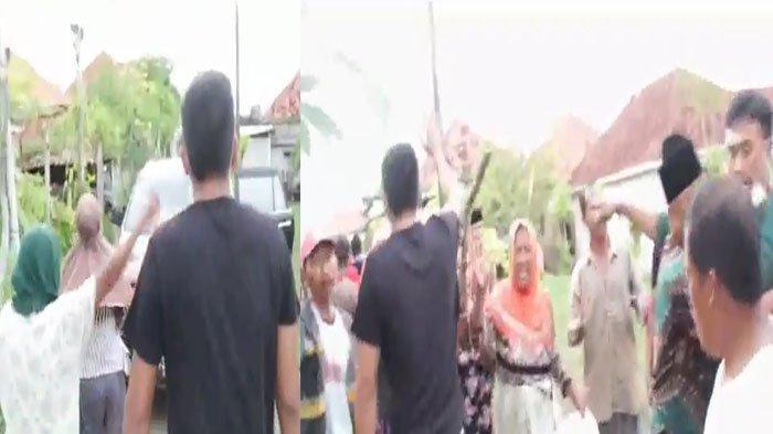 Viral Video Penangkapan Terduga Bandar Sabu di Sokobanah Sampang, Petugas BNN Jatim Diamuk Massa