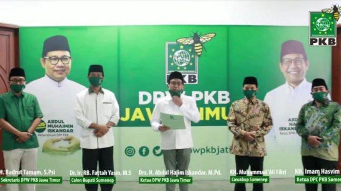 Beredar Video Rekomendasi PKB untuk Fattah Jasin-Muhammad Ali Fikri, Ini Kata Ketua DPC PKB Sumenep