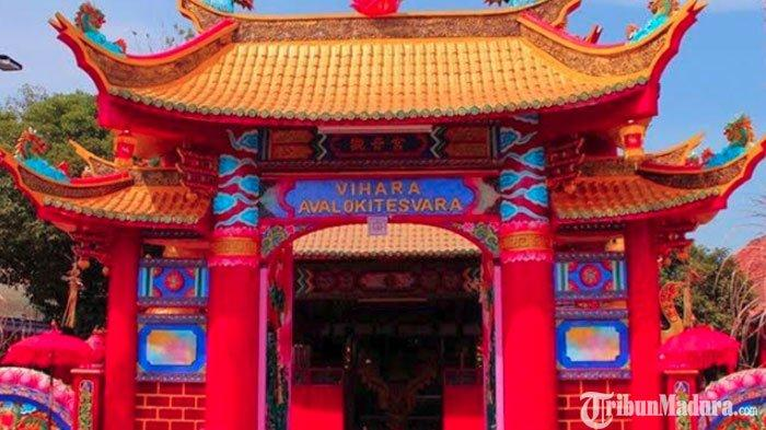 Sejarah Singkat Vihara Avalokitesvara Pamekasan, Mengandung Situs Peradaban Kerajaan Majapahit