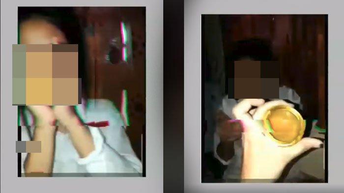 Siswi SMP Pesta Lem di Dalam Kamar Viral di Facebook dan WhatsApp, Sambil Ngefly Endingnya Ciuman
