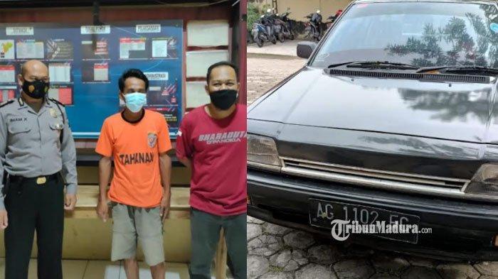 Warga Kediri Gelapkan Mobil Kerabat, Mobilnya Malah Tak Laku Karena Usang, Kini Terancam Dipenjara