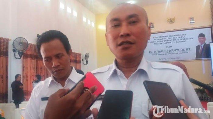 KepalaDisdik Siap Diskusi dengan Gubernur Jatim BahasPersoalan Jumlah Pengawas LembagaSMA/SMK
