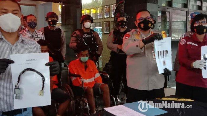 VIRAL di Medsos, Video Polisi Bekuk Komplotan Curanmor Mobil Pick Up di Malang, Tiga Pelaku Ditembak