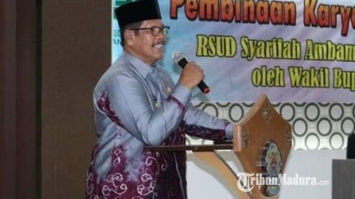 Wakil Bupati Bangkalan Dorong Petugas RSUD Syamrabu Tingkatkan Kualitas Pelayanan Kesehatan