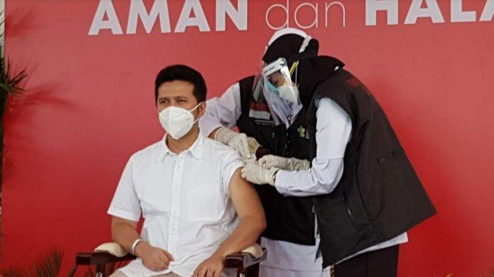 BREAKING NEWS: Wagub Emil Dardak Pagi Ini Jadi Orang Pertama yang Disuntik Vaksin Covid-19 di Jatim