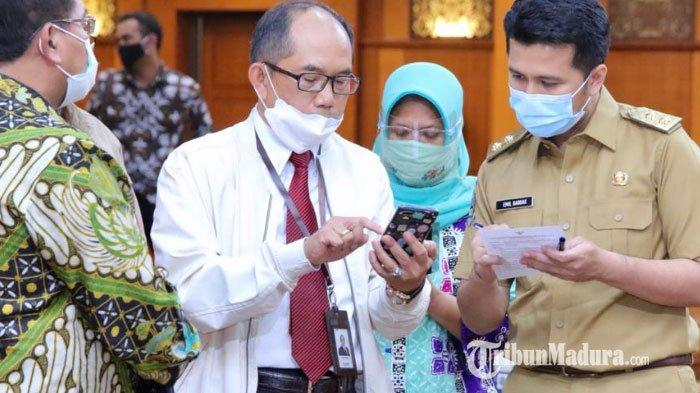 Wagub Emil Siap Jadi Penerima Vaksin Covid-19 Pertama di Jawa Timur, Tak Takut Dampak Ikut Vaksinasi