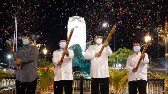 Jadi Ikon Baru Kota Madiun, Keberadaan Patung Merlion Dikritik Banyak Netizen, Wali Kota Bereaksi