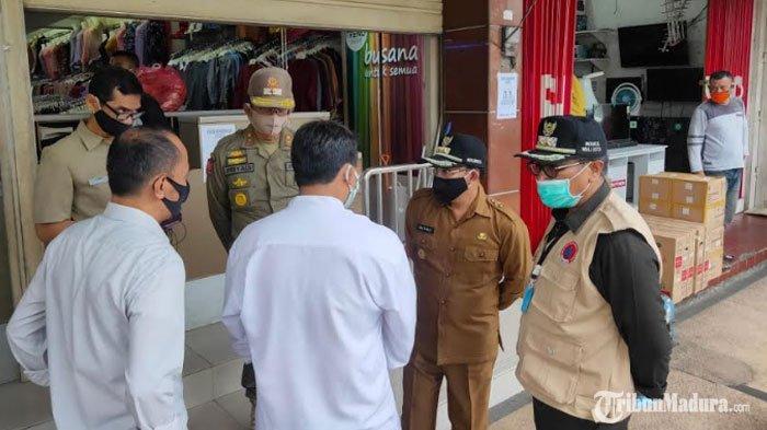 Tetap Buka saat PSBB, Toko Pakaian di Kota Malang Langsung Tutup Setelah Disidak Wali Kota Sutiaji