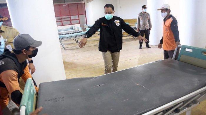 RS Darurat GOR Indoor GBT Ditarget Segera Beroperasi, Pemkot Surabaya Butuh Banyak Tenaga Kesehatan