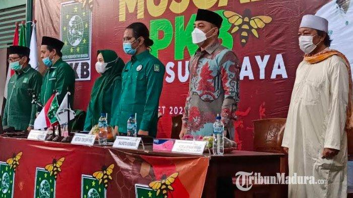 Hadiri Musyawarah Cabang PKB Surabaya, Wali Kota Eri Cahyadi Disebut Sebagai Pemimpin Sejati