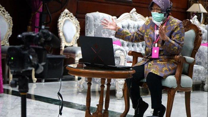 Risma Dorong Restoran dan Mal di Kota Surabaya Terapkan Protokol Kesehatan Ketat saat New Normal