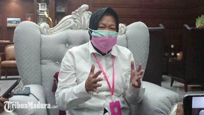 Risma UngkapPola Penanganan Covid-19 di Surabaya, Kolaborasi dengan Hotel hingga Sulap Asrama Haji