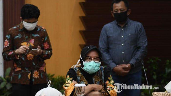 Terkait Rencana Penerapan PSBB di Surabaya, Wali Kota Risma: Kita Ikuti Pergub