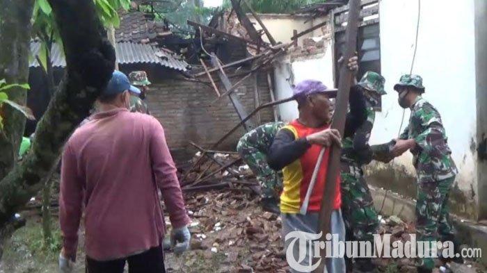 63 Bangunan Pemerintah & Rumah Warga di Trenggalek Terdampak Gempa Malang, Paling Banyak Atap Ambruk
