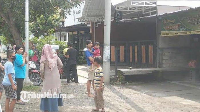 Imbas Gempa di Malang, Wilayah Trenggalek juga Merasakan Gempa, Warga Berlarian Keluar Bangunan