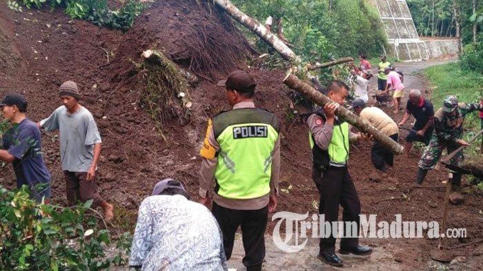 Tiga Ruas Jalan Provinsi di Jawa Timuryang Rawan Terjadi Longsor, Jalan Pamekasan Termasuk