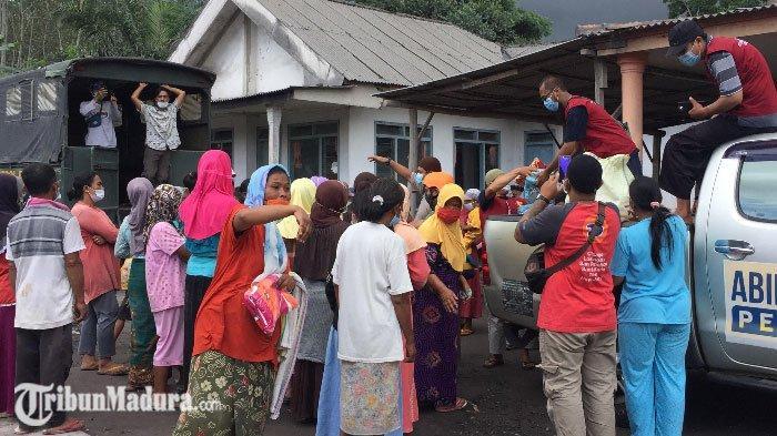 Warga yang Terdampak Erupsi Gunung Semeru Akhirnya Tersentuh Bantuan, Akui Kekurangan Bahan Pokok