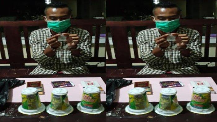 Simpan Sabu di Kemasan Minuman Berenergi, Pria Sumenep Diamankan Polisi saat Hendak Pesta Narkoba
