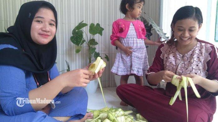 Menilik Tradisi Lebaran Ketupat Warga Madura, Ada Makna di Balik Proses Pembuatan Cangkang Ketupat