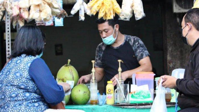 Diburu Masyarakat Surabaya, Kelapa Muda Hijau Dipercaya Mampu Menjaga Daya Tahan Tubuh saat Pandemi