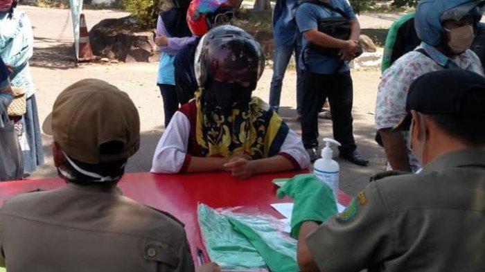Tak Bawa Surat Keterangan RT/RW, 250 Warga Terjaring Razia PSBB Sidoarjo di Jalan Pahlawan