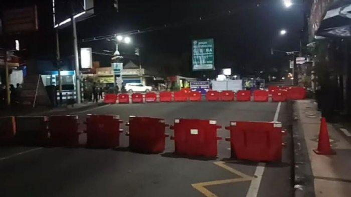 Penutupan Akses di Jalan S. Supriadi Selama PSBB Malang Raya, Ini Penjelasan Perwira Pos Check Point