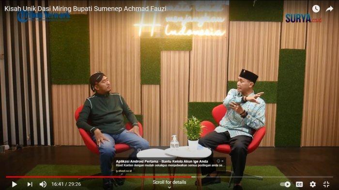 Wawancara Eksklusif Bupati Sumenep Achmad Fauzi: Prioritas Utama adalah Membangun SDM Lebih Andal