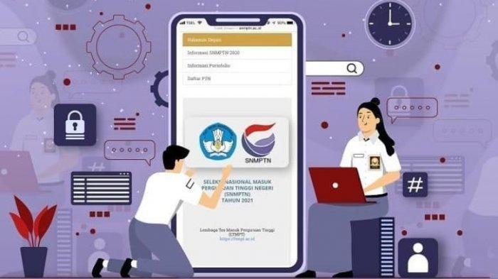 Login portal.ltmpt.ac.id dengan Akun LTMPT untuk Daftar SNMPTN 2021, Perhatikan 7 Tahapannya