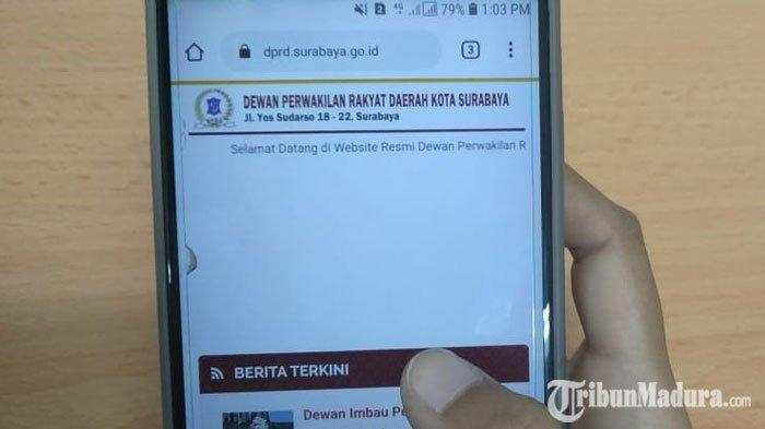 Penggunaan Media Sosial Dibahas saat Rapat ParipurnaDPRD Surabaya, Begini Respon Adi Sutarwijono
