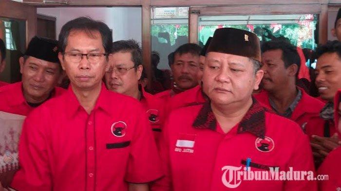 Tiga KandidatMendaftar Penjaringan Pilwali Surabaya 2020 melalui PDIP yang Berlangsung Tertutup