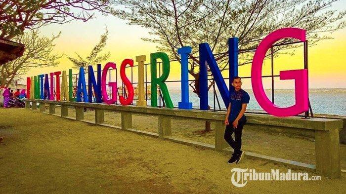 Putus Rantai Penyebaran Corona, Pengelola Pantai Talang Siring Tutup Sementara Tempat Wisata