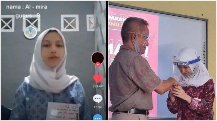 Heboh Video TikTok Salam Taraktakdung, Almira Ditawari Endorse hingga Tradisi Perkenalan Siswa Baru