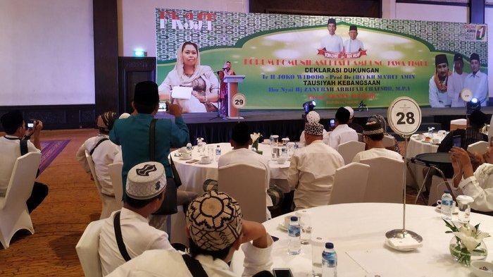 Kiai Kampung Deklarasi Dukung Jokowi-Maruf Amin, Yenny Wahid: Berangkat ke TPS Riang Gembira