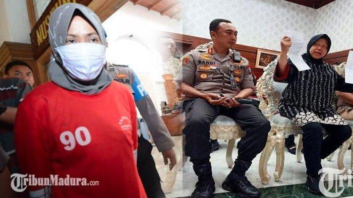 Wali Kota Surabaya Risma Maafkan Zikria Dzatil, Polisi Benarkan Risma Cabut Laporan Polisi