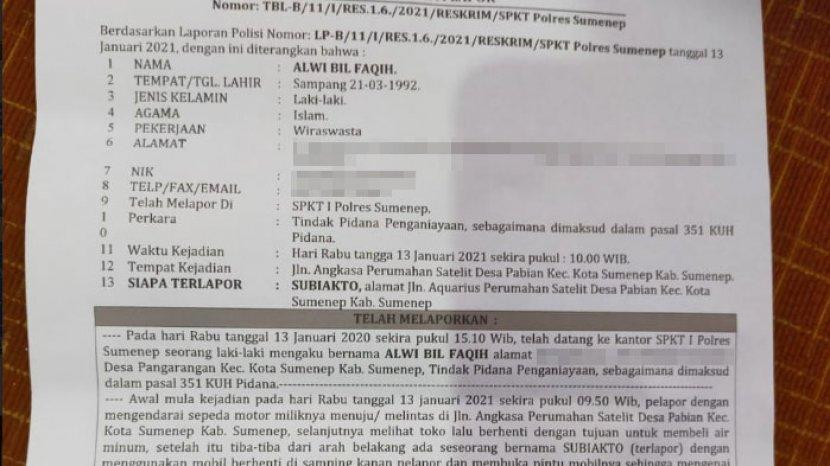 Dapat 16 Jahitan Korban Dugaan Kasus Penganiayaan Oknum Pns Sumenep Minta Pelaku Segera Ditangkap Tribun Madura