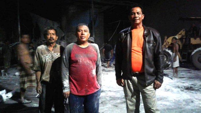 Kelebihan Bahan Bakar Minyak, Pabrik Kapur di Marusu Kabupaten Maros, Terbakar