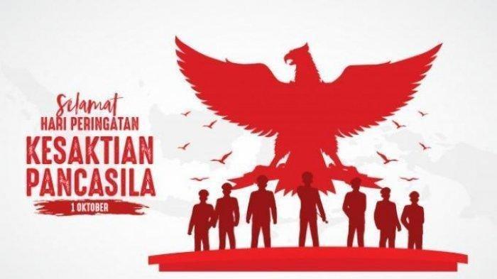 Ilustrasi Hari Kesaktian Pancasila. Jangan salah! Tanggal 1 Oktober adalah Hari Kesaktian Pancasila yang terkait G30S PKI, bukan Hari Lahir Pancasila, begini bedanya.