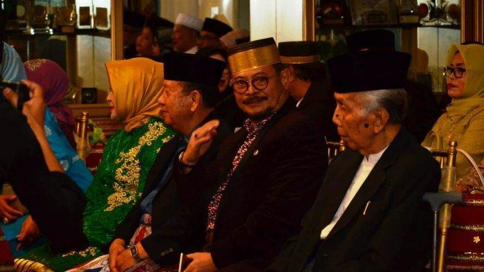 Jarang Terjadi! Acara Malam Mappacci Putra Nurdin Abdullah, Pertemukan SYL dan Amin Syam - 10012019_nurdin.jpg