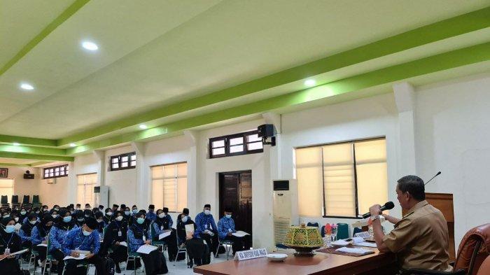 104 CPNS 2019 Lingkup Pemkab Wajo Ikuti Pelatihan Dasar