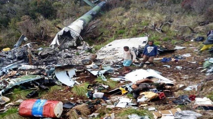 Helikopter Jatuh di Pegunungan Bintang, 12 Jasad TNI Ditemukan dan 9 Bisa Dikenali, Ini Nama Korban?