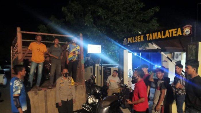 Balapan Liar Marak di Tamalatea Jeneponto, 13 Motor Diamankan