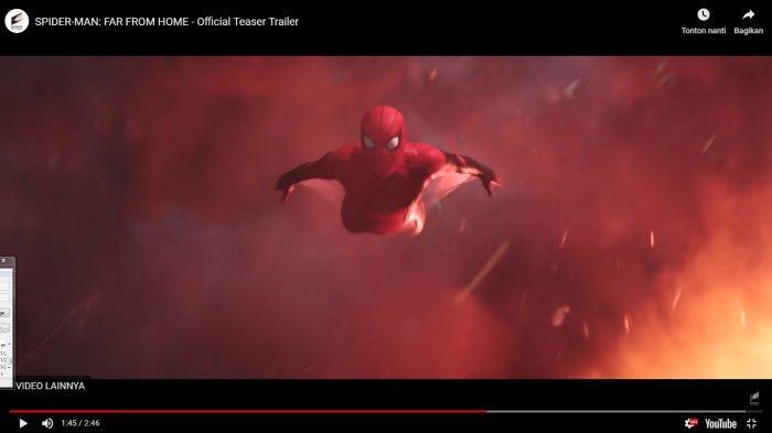 Tom Holland, Pemeran Peter Parker, Bagikan Trailer Perdana 'Spiderman: Far from Home' di Sini!