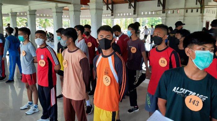 161 Siswa Ikut Seleksi Calon Paskibra Tahun 2021 di Kabupaten Luwu