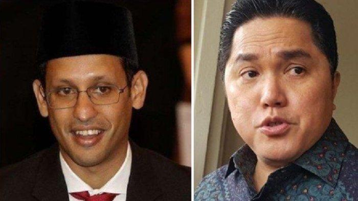 2 Menteri Jokowi Sedang Ramai Dibahas, Mendikbud Nadiem Makarim Salah Urus & Erick Capres 2024