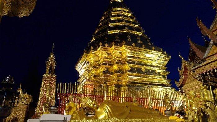 Tak Lengkap ke Chiang Mai Jika Tak ke Dhoi Sutep, Ada Spot Mirip di Film La La Land. Lihat Fotonya